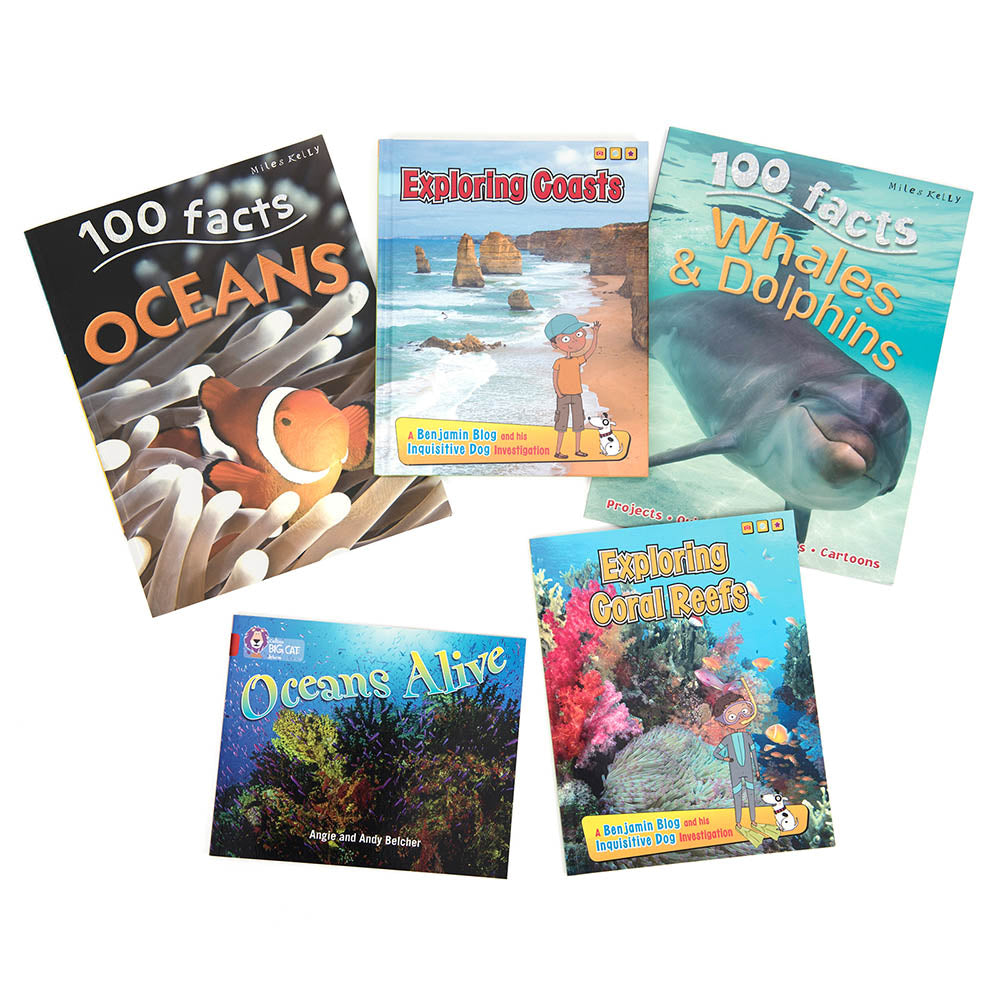 Topic Kit - Under the Sea Book Packs Y3/4