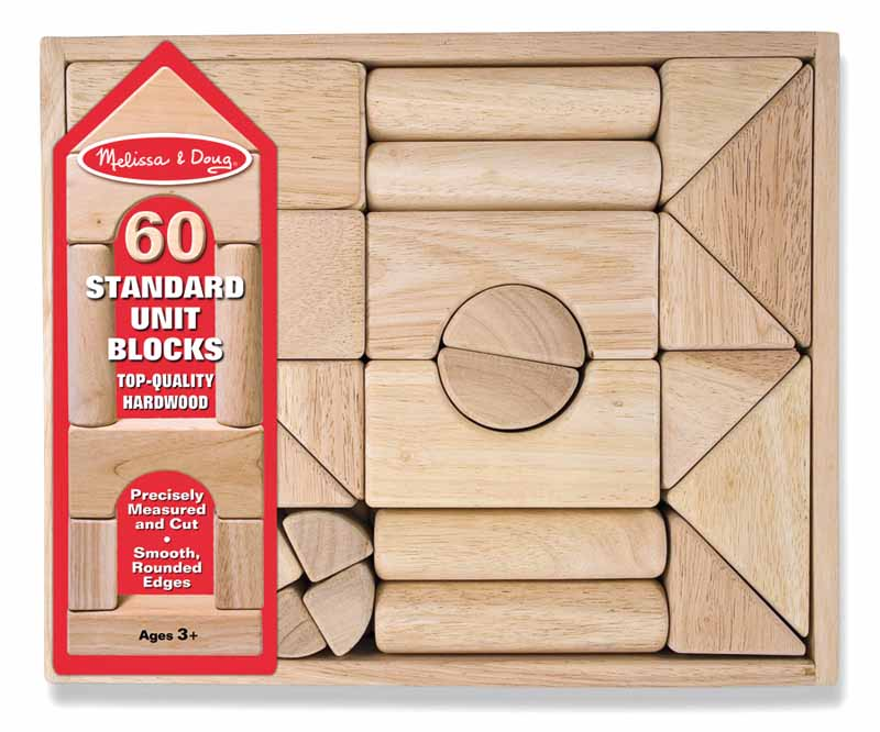 Standard Unit Blocks (60 Pcs)