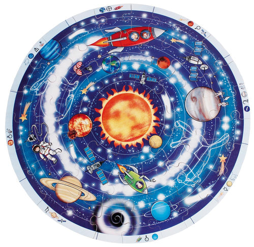 XXL Planets Puzzle