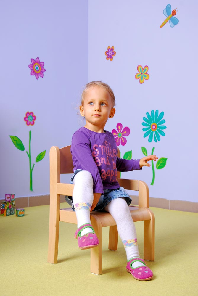 Toddler Chair with Armrests