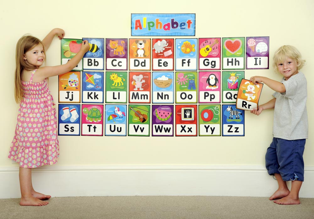 Alphabet Bulletin Board