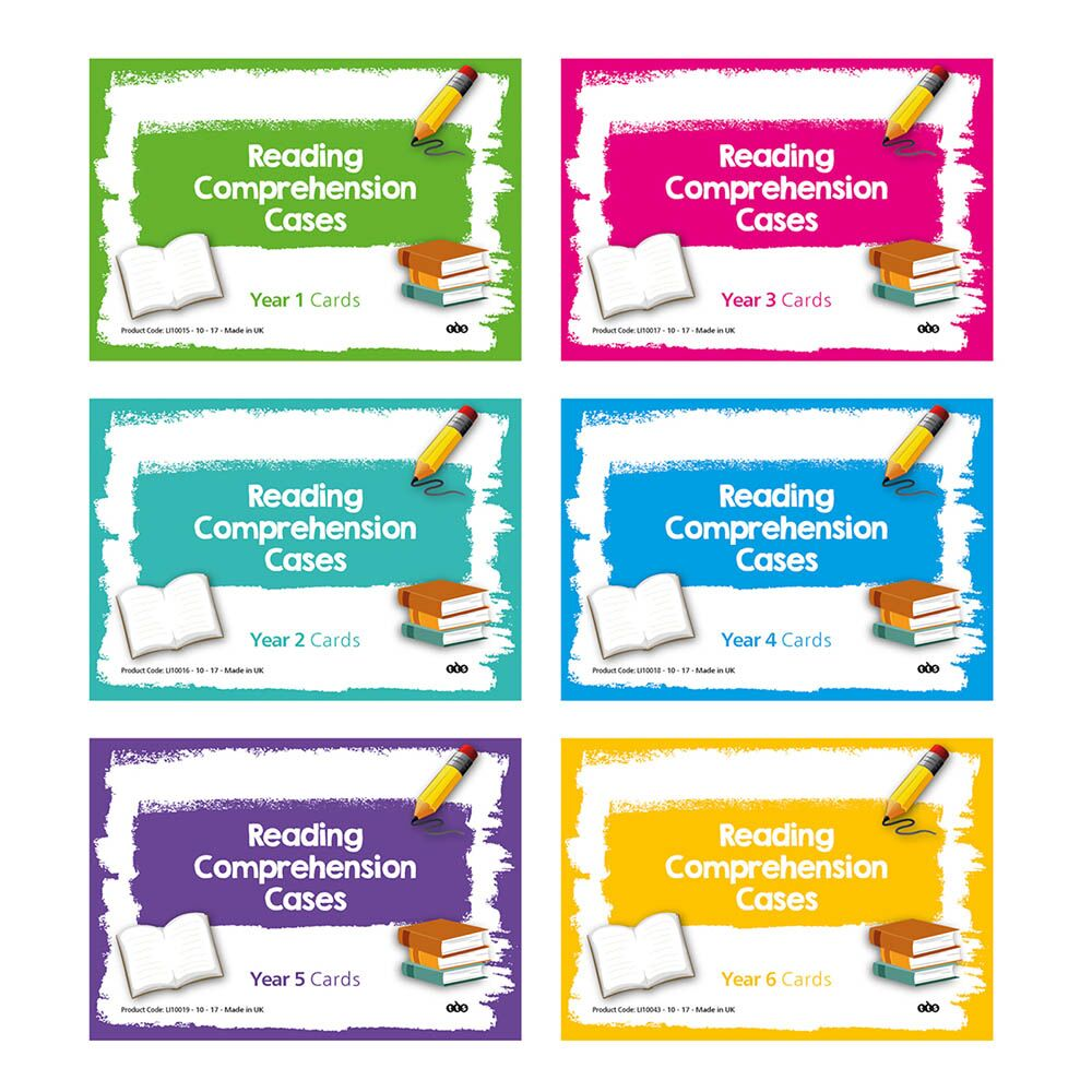 Reading Comprehension Cards Year 6