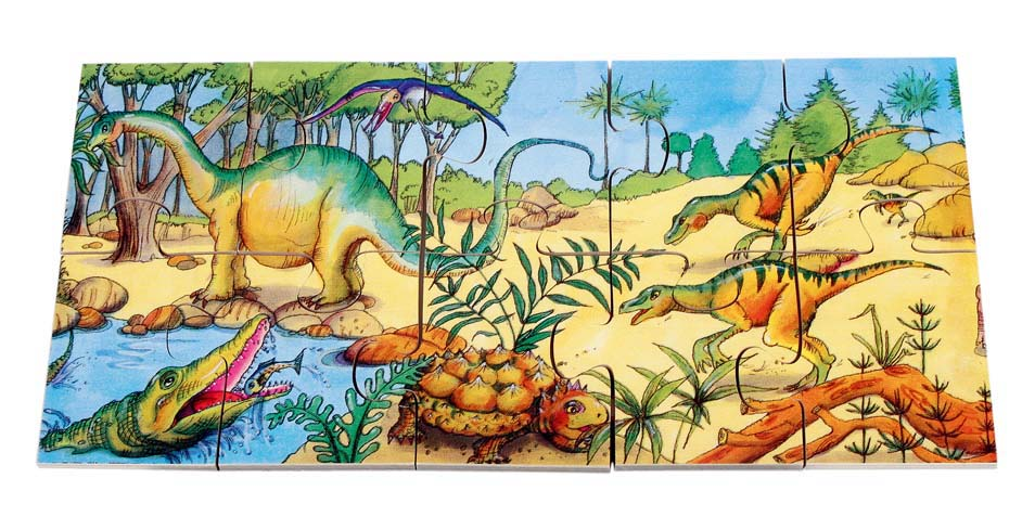 Special Set Of 2 Floor Puzzles