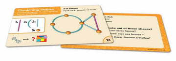 Geometric Shape Multilingual Activity Cards