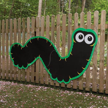 Giant Mark Making Chalkboard Caterpillar