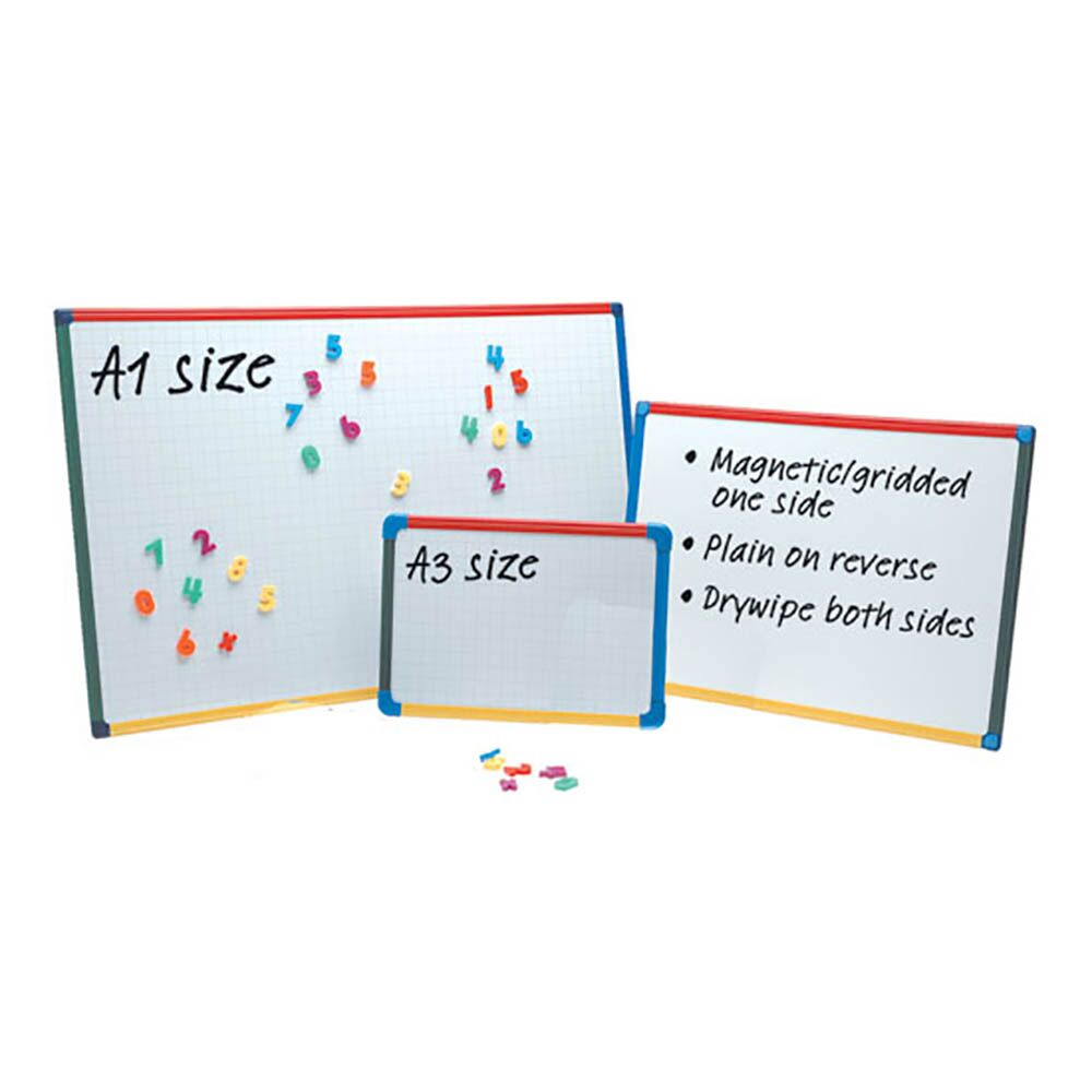 Drywipe Magnetic Whiteboard A2