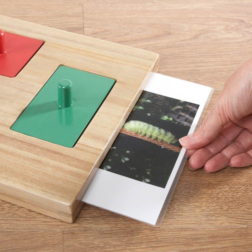 Wooden Explorer Peg Puzzle Board