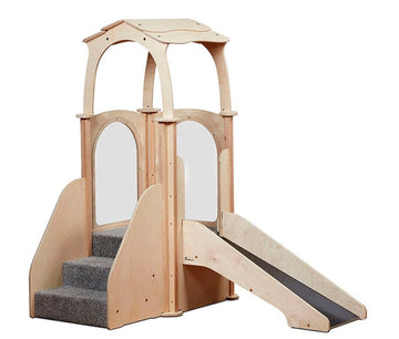 Step & Slide Kinder Gym (with roof)