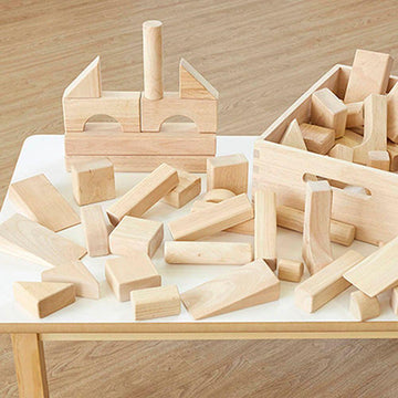 Standard Wooden Unit Blocks 46pcs