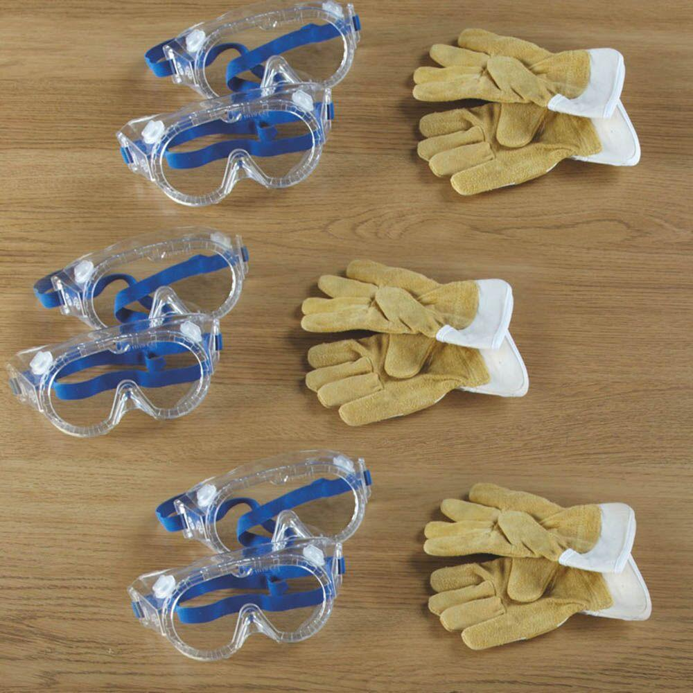 Goggles and Gloves 9pcs