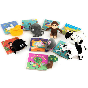 Take Home Rhyme Book and Toy Set Offer Book Packs 16pk