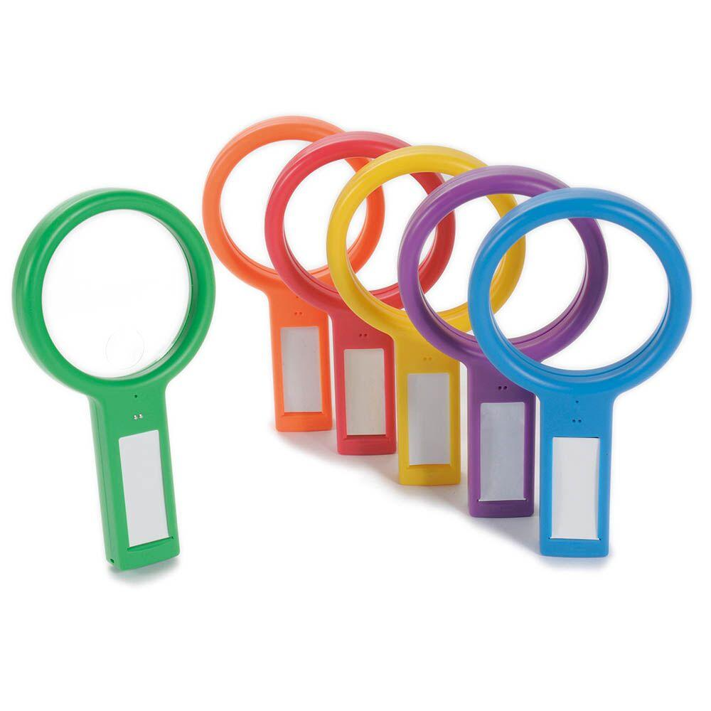 See and Speak Recordable Magnifying Glass 6pk