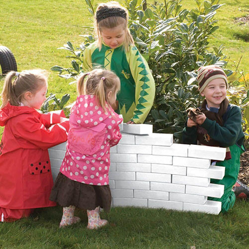 White Foam Bricks 25pk