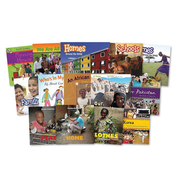 World Community Multicultural Diversity Book Packs 14pk