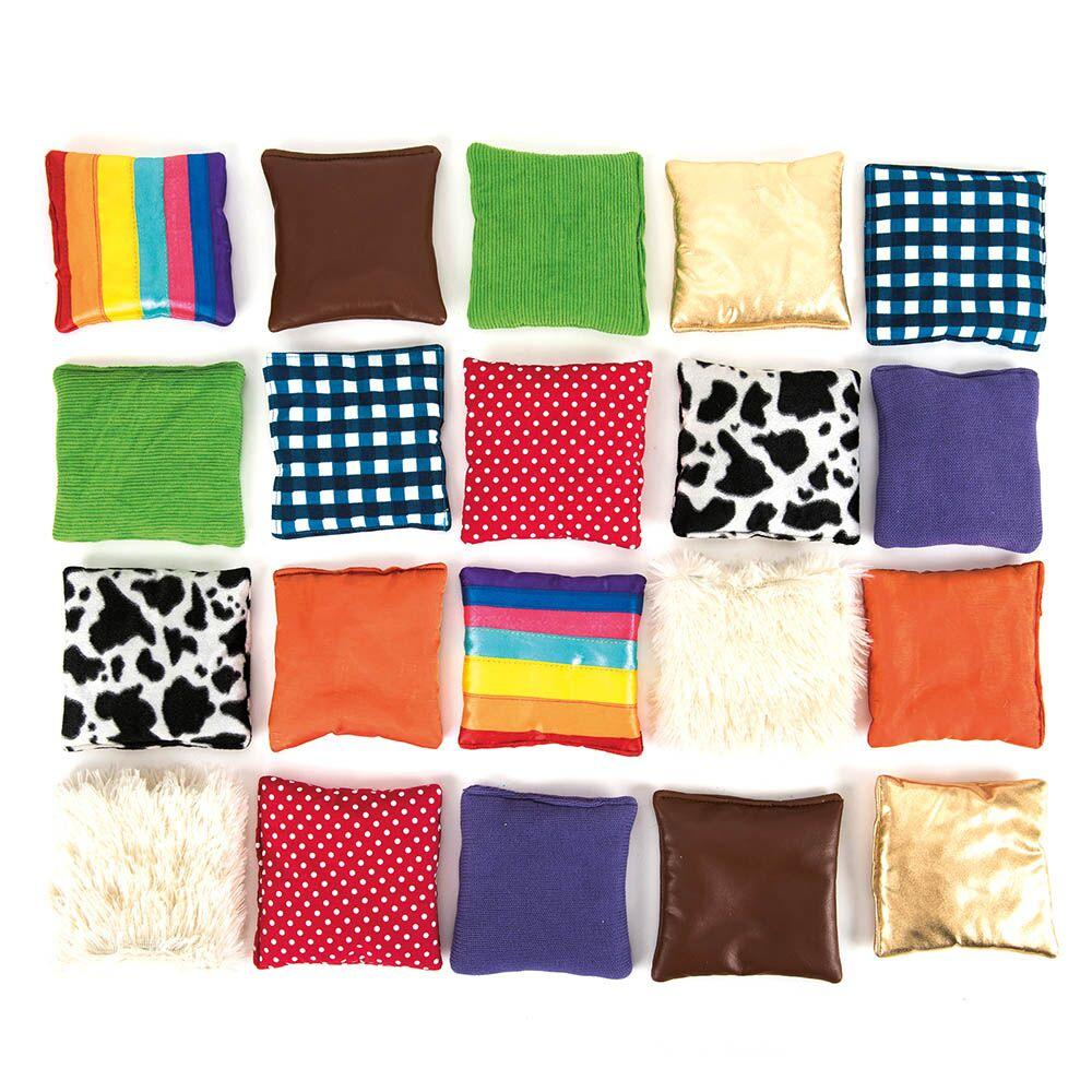 Find the Match Fabric Sensory Squares
