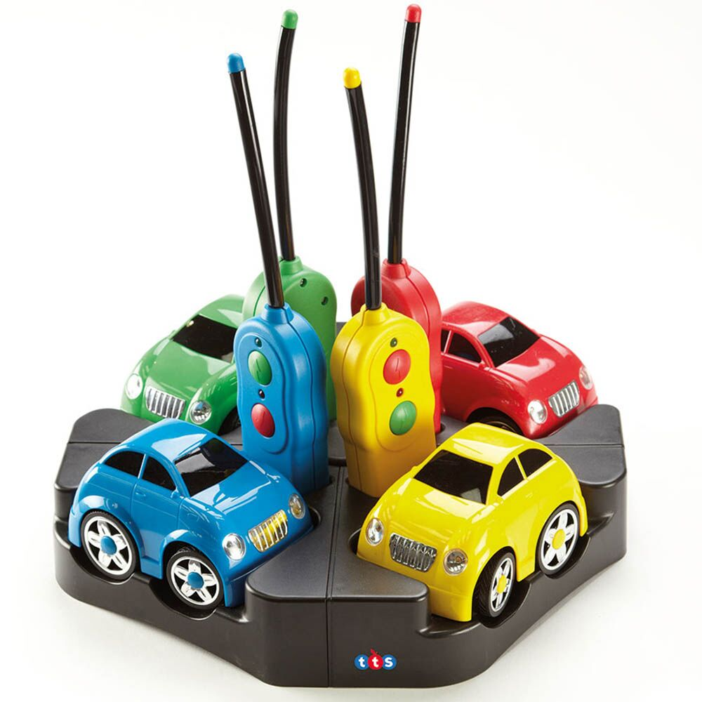 Rechargeable Remote Control Cars 4pk