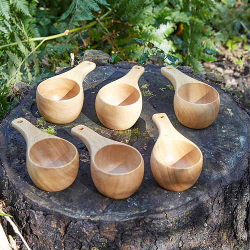 Woodland Wooden Cup 6pk