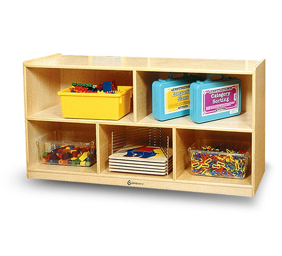 5 Cubby Storage Unit