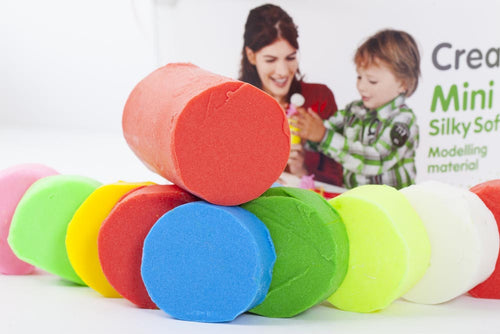 Creall® Mini Silky Soft Bright Primary Colours