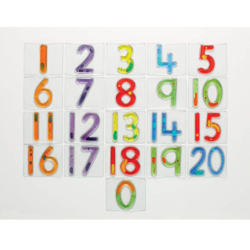 Squidgy Sparkle Number Tiles 0-20