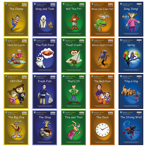 Synthetic Phonics Book Pack Units 8-10 12pk