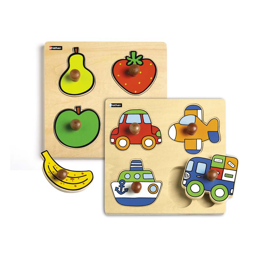 Special Vehicle And Fruit Puzzle