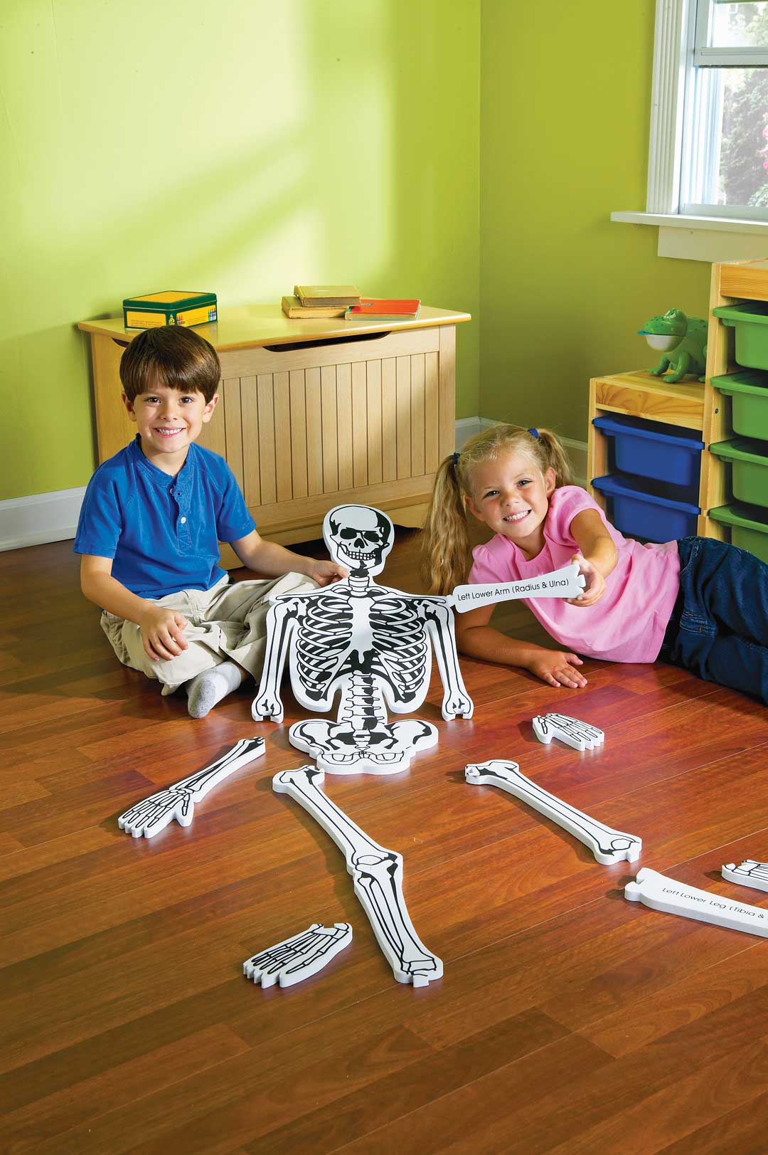 Skeleton Foam Floor Puzzle
