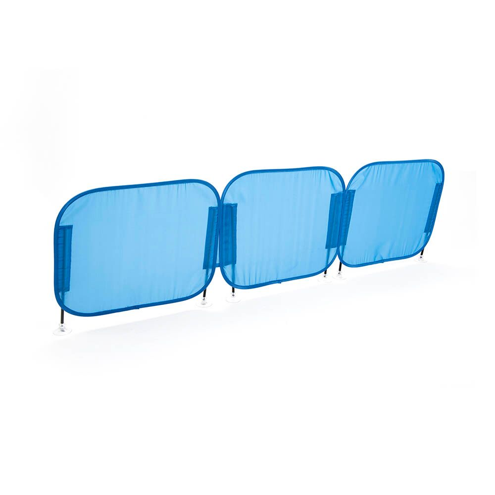 Pop-Up Concentration Desk Barrier Blue