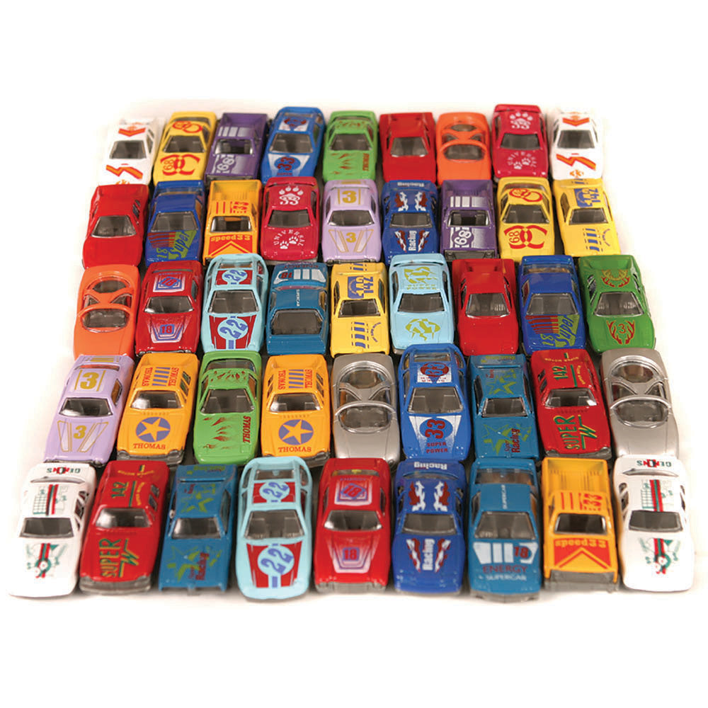Small World Die Cast Car Set 48pcs