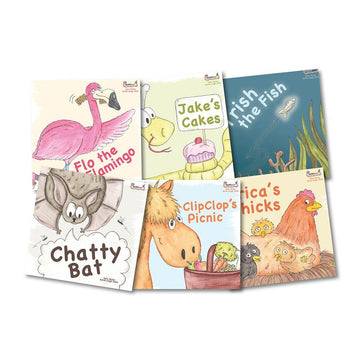 Early Soundplay Speech and Language Book Packs 6pk