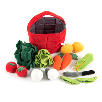 Soft Role Play Basket of Vegetables