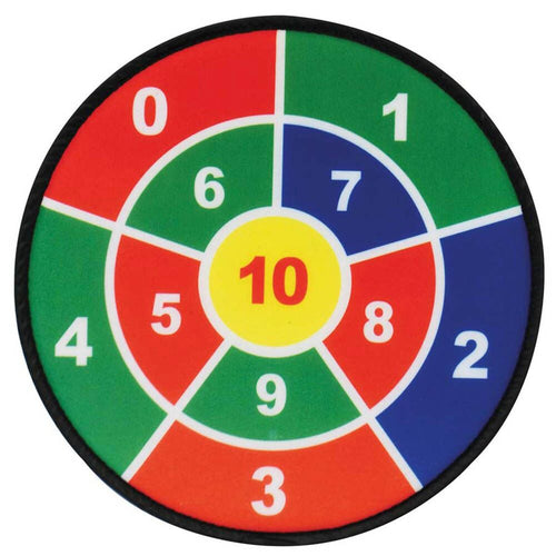 Number Dartboards Adhesive Balls and Targets 3pk