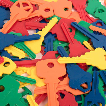 Plastic Key Counters and Key Ring Counting Set