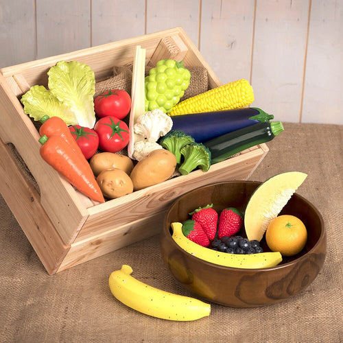 Role Play Fruit and Veg Food Set