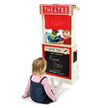 Role Play Shop and Theatre Station with 9 Crates
