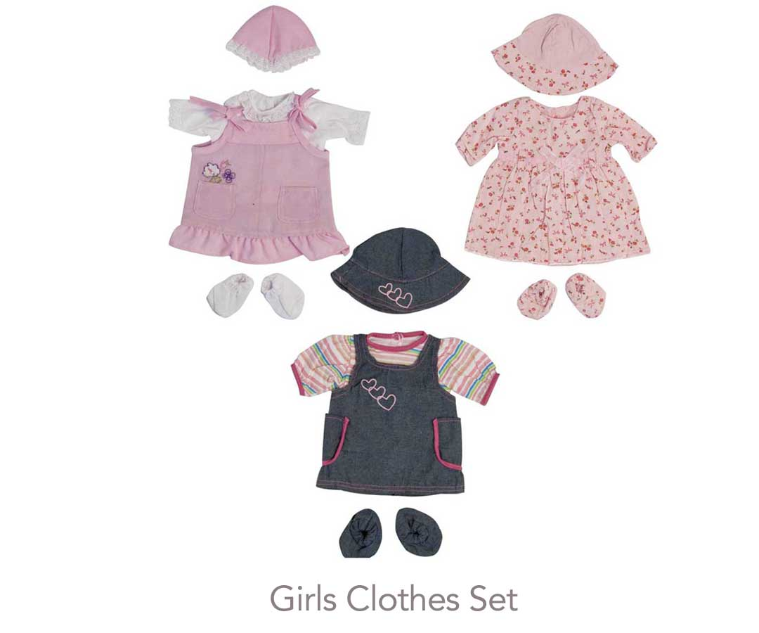 Doll + Clothes + Buggy Special