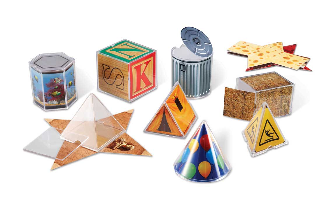 Real World Folding Geometric Shapes