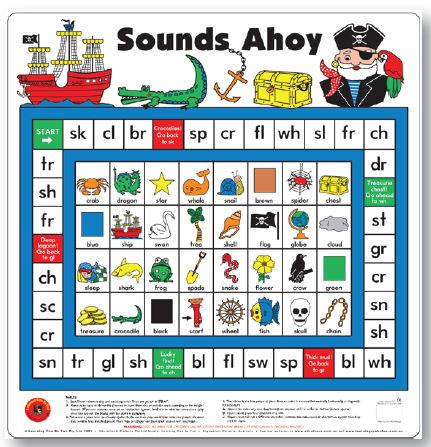 Sounds Ahoy Floor Game