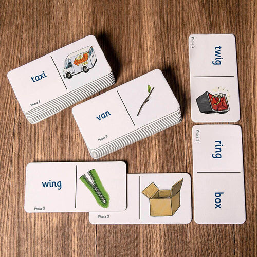 Decodable Word Dominoes Phases 2-6 Pack