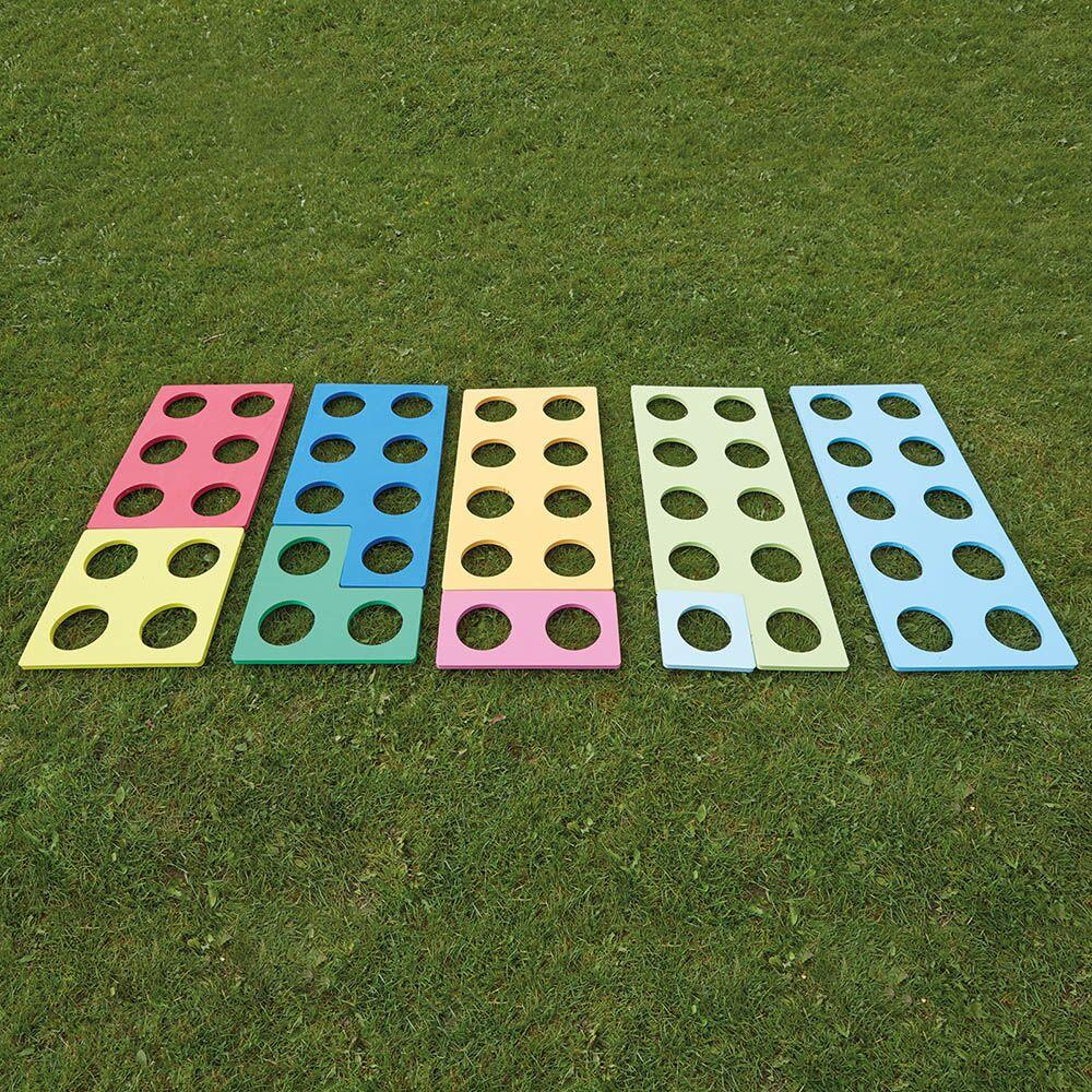 Giant Outdoor Number Frames Foam 48pk