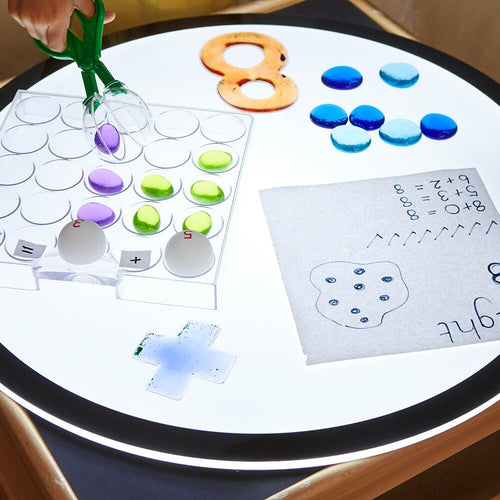Lightbox Fine Motor Activity and Sorting Grid
