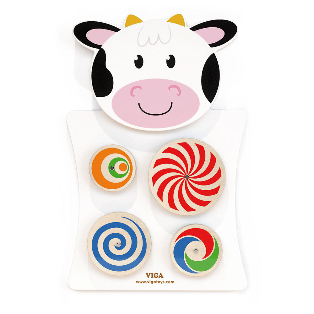 Wall Toy - Turning Patterns/Cow