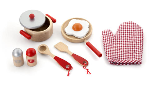 Cooking Tools Set Red