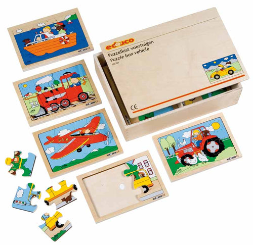 Vehicles Puzzle Box - EASE