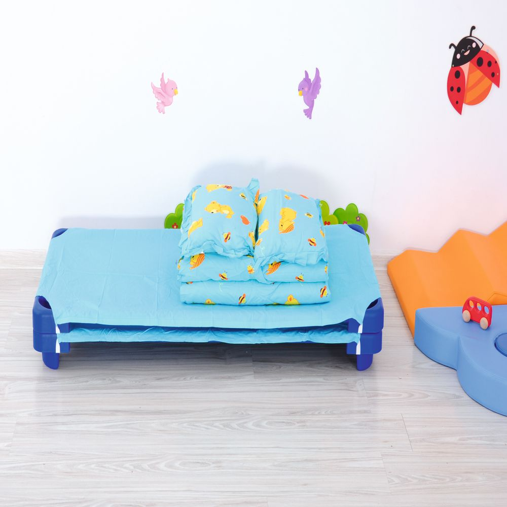 Bedding for Cot - Blue