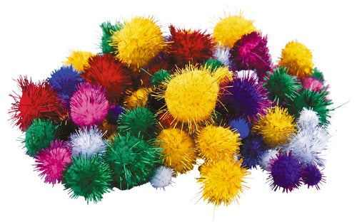 Opalescent Pompoms