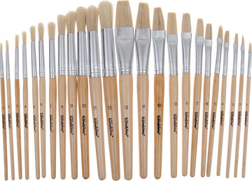 24 Painting Brushes Set