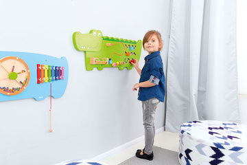 Activity Manipulative Wall Panel - Crocodile