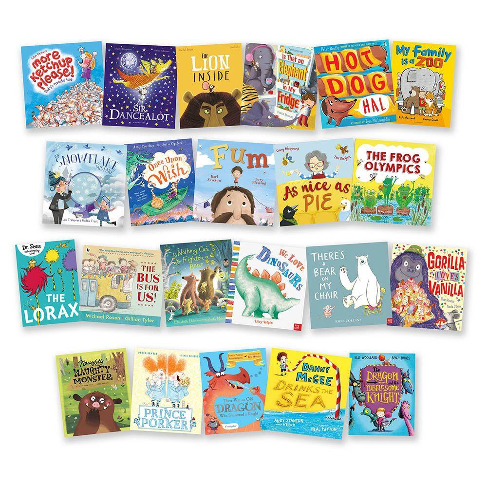 Rhyme and Rhythm Book Packs 21pk