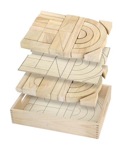 Unit Block Set - 42 pcs